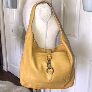 Dooney & bourke xl clip lock leather shoulder bag